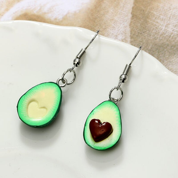 Avocado Love Drop Earring