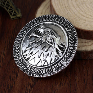 Stark Sigil Pin | Handcrafted
