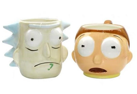 Rick and Morty 3D Mugs