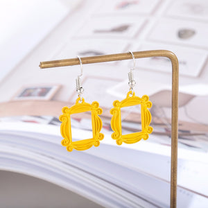 Peephole Frame Earrings