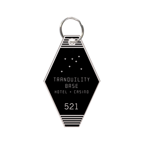 *NEW* TRANQUILITY BASE HOTEL + CASINO HEAVYWEIGHT KEYCHAIN