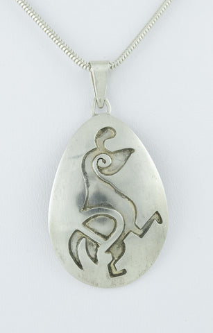 Pendant, Sterling Silver