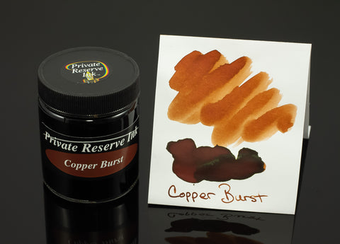 Private Reserve Bottled Ink, Copper Burst