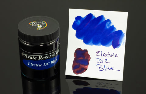 Private Reserve Bottled Ink, Electric DC Blue