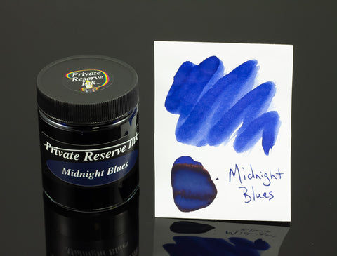 Private Reserve Bottled Ink, Midnight Blues