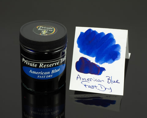 Private Reserve Bottled Ink, American Blue Fast Dry