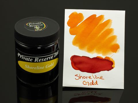 Private Reserve Bottled Ink, Shoreline Gold