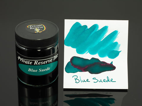 Private Reserve Bottled Ink, Blue Suede