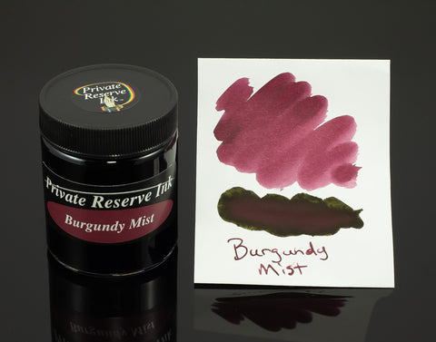 Private Reserve Bottled Ink, Burgundy Mist