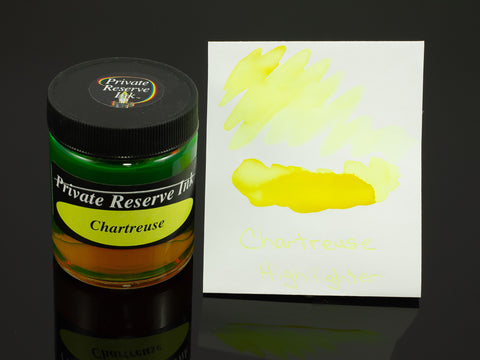 Private Reserve Bottled Ink, Chartreuse (Highlighter)