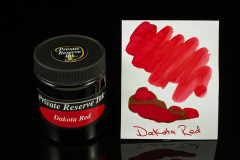 Private Reserve Bottled Ink, Dakota Red