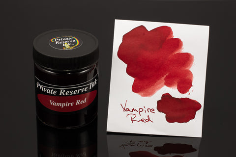 Private Reserve Bottled Ink, Vampire Red