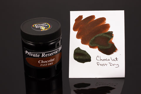 Private Reserve Bottled Ink, Chocolat Fast Dry