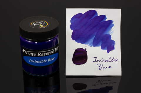 Private Reserve Bottled Ink, Invincible Blue