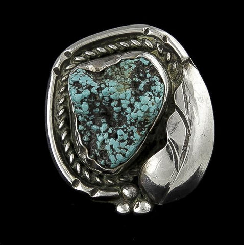 Jewelry, Ring, Sterling Silver & Turquoise (Native American)