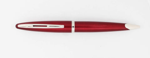 Waterman, Carene Ballpoint Pen, Garnet Red w/Chrome Plated Trim-GU221-PR