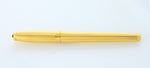 S.T. Dupont, Fidelio Fountain Pen, Gold Plated w/Gold Plated Trim
