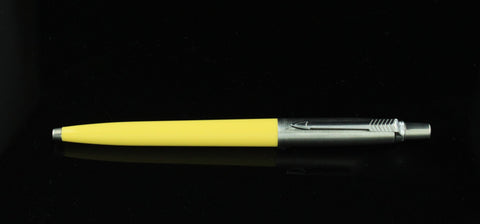 Parker, Jotter Ballpoint Pen, Canary Yellow w/Chrome Plated Cap
