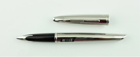 Waterman, Carene Contemporary Fountain Pen, Silver Plated