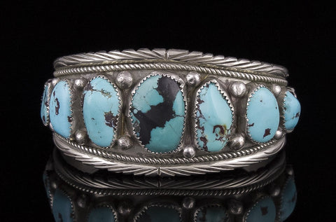 Jewelry, Bracelet, Sterling Silver & Turquoise (Native American)