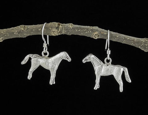 Jewelry, Earrings, Sterling Silver, Equus Collection