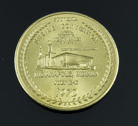 Other, Coin, 1970 Shrine Convention Commemorative Souvenir, Masonic
