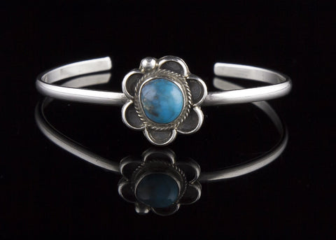 Jewelry, Bracelet, Sterling Silver & Turquoise