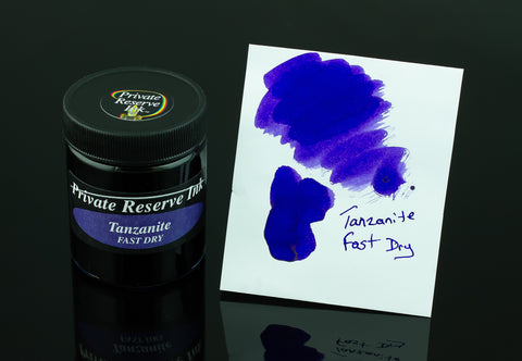 Private Reserve Bottled Ink, Tanzanite Fast Dry
