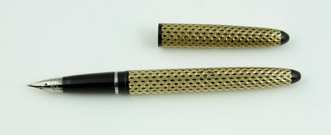 Sheaffer, Lady Skripsert Fountain Pen, Black & Gold - VP4839