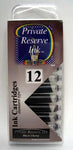 Private Reserve Ink - Black Cherry Ink Cartridges 12 Pack