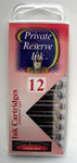 Private Reserve Ink - Arabian Rose Ink Cartridges 12 Pack