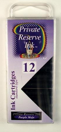 Private Reserve Ink - Purple Mojo Ink Cartridges 12 Pack