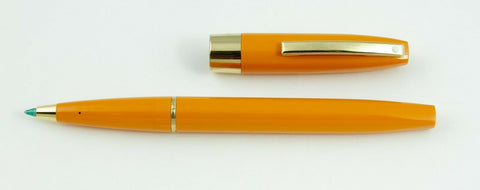 Sheaffer, Triumph Imperial Rollerball Pen, Cadmium Yellow w/Gold Plated Trim - NOS155