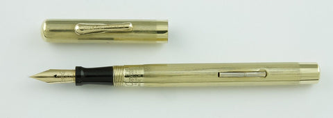 Conklin, Lever Filler Fountain Pen, Rolled Gold - VP4661