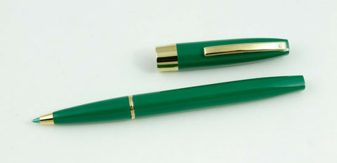 Sheaffer, Triumph Imperial Rollerball Pen, Emerald Green w/Gold Plated Trium - NOS159