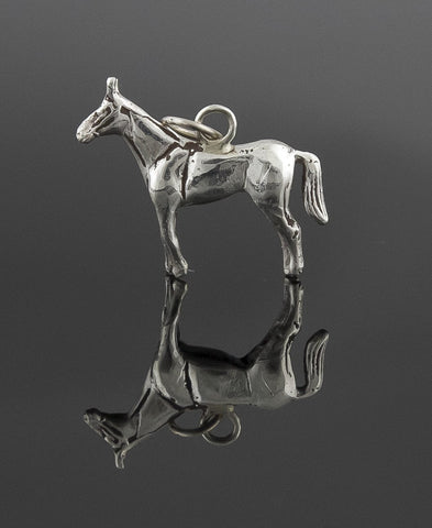 Pendant, Sterling Silver, Equus Collection