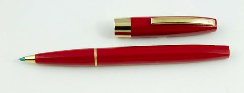 Sheaffer, Triumph Imperial Rollerball Pen, Flame Red w/Gold Plated Trim - NOS158