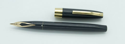 Sheaffer, Lifetime Fountain Pen, Grey w/Gold plated Trim - GU388-PR