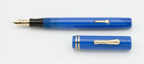 Conklin, #2LF Fountain Pen, Pastel Blue w/Gold Fill Trim - VP4912