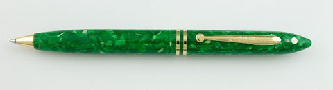 Sheaffer, Balance II Ballpoint Pen, Jade Green w/Gold Plated Trim