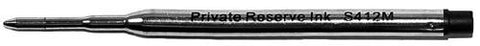 Private Reserve Ink - S412 - Sheaffer Style Ball Point - Medium Black - BULK