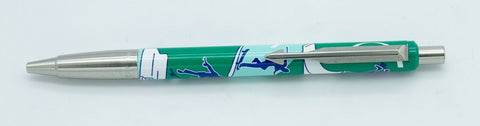 Parker, Vector Ballpoint Pen, Skateboard, Green w/Chrome Plated Trim - VP4894