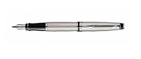 Waterman, Expert 3 Fountain Pen, Stainless Steel w/Chrome Plated Trim