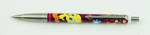 Parker, Vector Tweety Bird Ballpoint Pen, Burgundy w/Chrome Plated Trim - VP4830