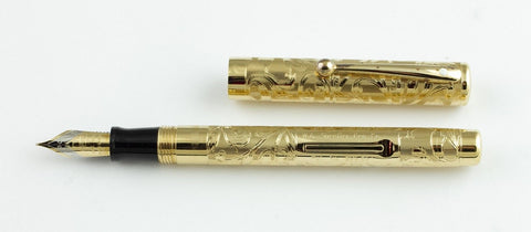 Sheaffer, W.A. Sheaffer Commemorative Fountain Pen, Gold Plated - NOS191