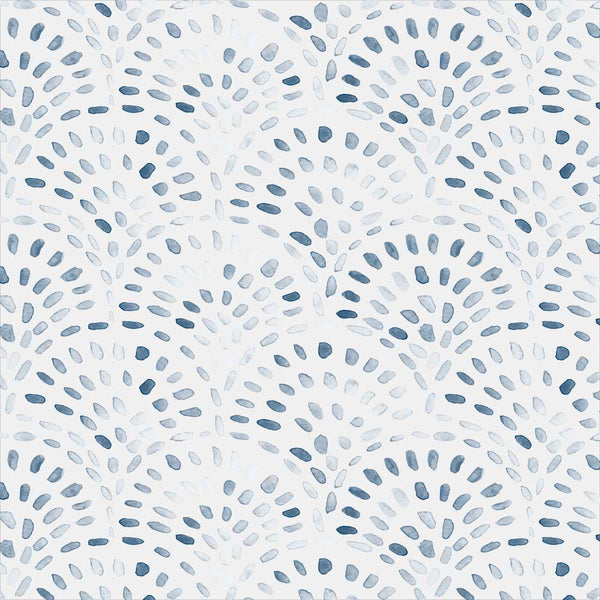 Bungalow Fabric in Blue