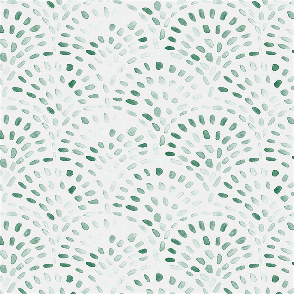 Bungalow Fabric in Green