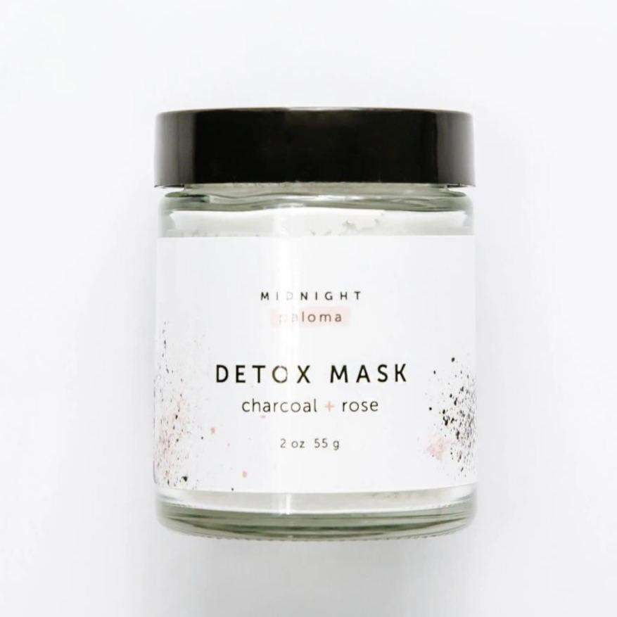 Jiyubox: Charcoal + Rose Detox Mask by Midnight Paloma