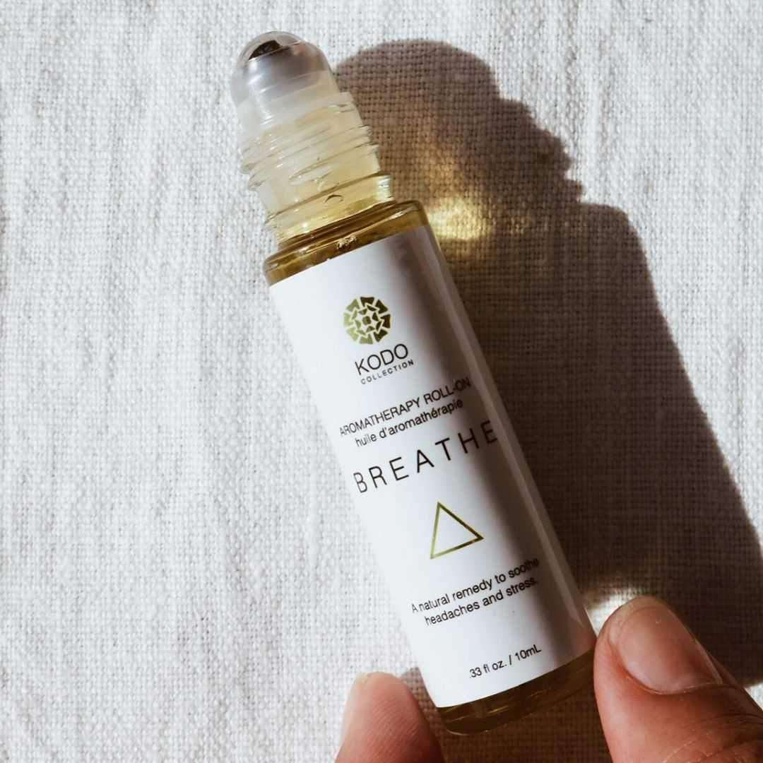 Clean Beauty Breathe Aromatherapy Roll On by Kodo Collection