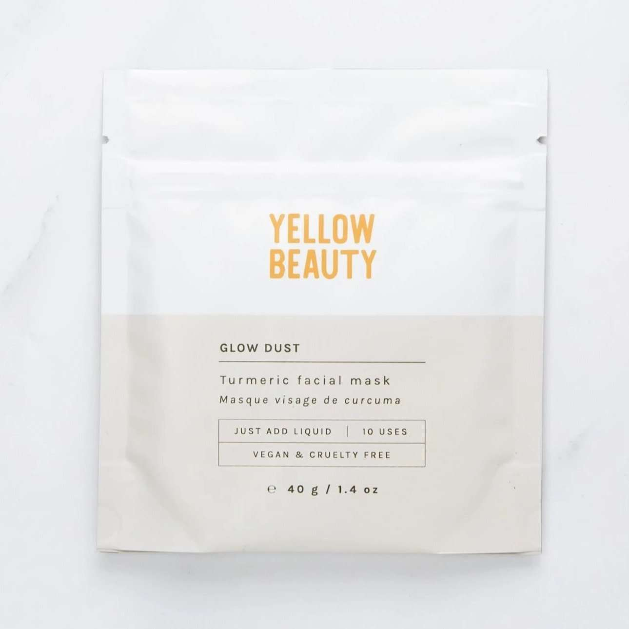 Jiyubox: Glow Dust Detoxifying Mask by Yellow Beauty